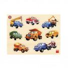 Dino Wooden Baby Puzzle Tatra, 8 pieces
