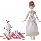 Hasbro Frozen II Anna Doll with Olaf, 29cm