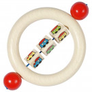 Heimess Wooden Touch Ring Rattle Train