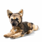 Steiff Soft toy Alsatian dog Mike, 37cm