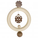 Heimess Wooden Touch Ring Ladybird Nature