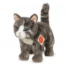 Teddy Hermann Soft toy cat grey, 20cm