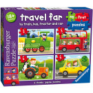 Ravensburger Puzzle My First Puzzles Travel Far 2-3-4-5