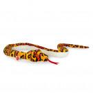 Teddy Hermann Soft toy Snake orange yellow, 175cm
