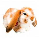 Teddy Hermann Soft toy Rabbit, 30cm sitting light brown