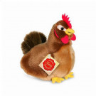 Teddy Hermann Soft toy Hen Brown, 16cm