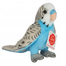 Teddy Hermann Soft toy Budgerigar, 13cm blue