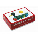 TOPA Wooden Picture Blocks Mini, 6 cubes