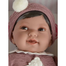 Antonio Juan Soft touch Baby Doll Pipo, 40cm in dark rosa
