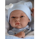 Antonio Juan Tonet Manta in Blue Baby Doll, 33cm