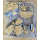 Antonio Juan Baby Doll Accessories Set 40-42cm blue
