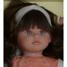 Asivil Pepa Soft Doll, 57cm in beige orange