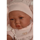 Antonio Juan Baby Girl Doll Nina, 42cm with blanket