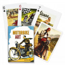 Piatnik Playing Cards Motorbike Art Single Deck
