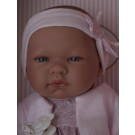 Asivil Baby Doll María, 43cm with headband