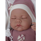 Antonio Juan Soft touch Baby Doll Luna Cojin, 40cm sleeping