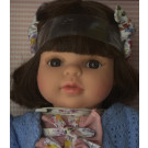 Berjuan Soft Doll Laura 2018 brunette, 40cm