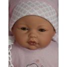 Antonio Juan Bimba Toquilla Baby Doll, 37cm closing eyes