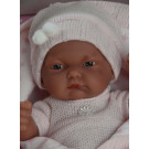 Antonio Juan Pitu Mantita Baby Girl Doll, 26cm in