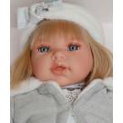 Antonio Juan Any Diadema Soft Body Doll, 37cm blond