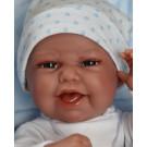 Antonio Juan Baby Clar Mantita Boy Doll, 33cm