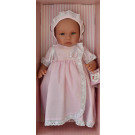 Asivil Baby Doll Soft Body Lea, 46cm in pink dress