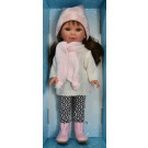 Vestida de Azul Paulina Doll, 33cm in Winter Cap