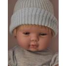 Berjuan Baby Smile Baby Boy Doll, 30cm With Star