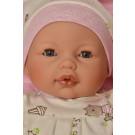 Antonio Juan Bimba Saquito Bebes Rosa Baby Doll, 37cm closing eyes
