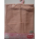 Antonio Juan Baby doll summer blanket, 40-42cm peach