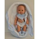 Berjuan Baby Smile Baby Boy Doll, 30cm In Bag