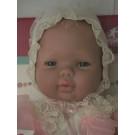 Berjuan Baby Smile Baby Girl Doll, 30cm christening