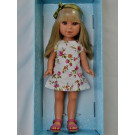 Vestida de Azul Paulina Doll, 33cm in Summer Dress