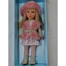 Vestida de Azul Paulina Doll, 33cm in pink vest