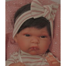 Antonio Juan Toneta Baby Doll, 33cm with brown hair