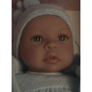 Asivil Baby Doll Soft Body Lea, 46cm blue cape