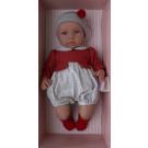 Asivil Baby Doll Soft Body Leo, 46cm in red