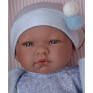 Asivil Baby Doll Pablo, 43cm with pompom