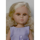 Vidal Rojas Naia Child Dolls Blonde, 41cm in purple