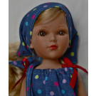 Vidal Rojas Little Mari Blond, 35cm in blue