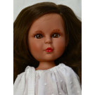 Vidal Rojas Little Naia Love brunette, 35cm white blouse