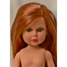Vidal Rojas Little Naia No Clothes Doll, 35cm red hair