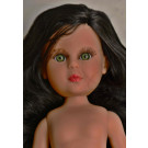 Vidal Rojas Little Naia No Clothes Doll, 35cm Black