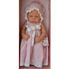 Asivil Baby Doll Lucía, 42cm long dress