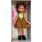 Paola Reina Las Amigas Dress Cristi in brown, 32cm