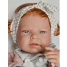 Antonio Juan Lea Baby Girl Doll, 42cm with hair