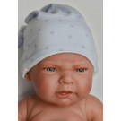 Antonio Juan Leo Baby Boy Doll, 42cm with nightcap