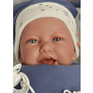 Antonio Juan Soft touch Baby Doll Carlo, 40cm in blue