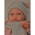 Antonio Juan Multi-positional Peke Baby Doll, 29cm