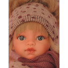 Antonio Juan Emily Bufanda Lunares Blonde Doll, 33cm
